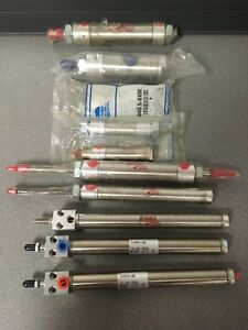 Mixed Lot 10 Bimba smc Stainless Rod Pneumatic Cylinder valve
