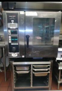 Henny Penny Lcg 6 Gas Combi Oven Combination Steam And Convection Oven