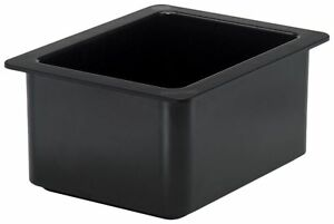 Cambro 26cf110 Coldfest Black Half Size 6 H Cold Food Pan New
