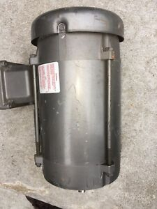Used Baldor 1 5 Hp Electric Motor Cat vm7034 3 Phase 1725 Rpm