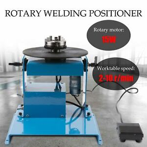 110v 50hz Lightweight Rotary Welding Positioner Turntable Flange Steel Pipe