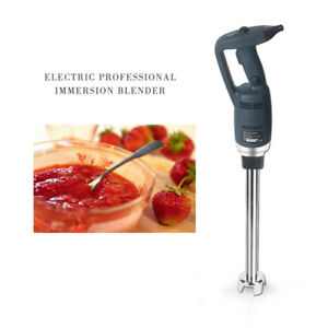 Commercial Immersion Blender Handheld Mixer Stainless Steel 300mm Stick Ce 350w