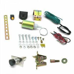 15lb Power Trunk Hatch Kit With Latch And Door Popper Autoloc Autpt2000 Street