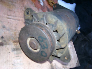 Vintage Ji Case 630 Gas Row Crop Tractor generator Pulley Untested