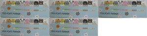 1 X Cute Animal Sticker Bookmark Marker Memo Flags Index Tab Sticky pack Of 5