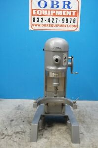 Hobart 60qt 1 5 H p Commercial Planetary Floor Mixer Model H600