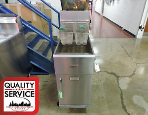 Pitco 40s Commercial Gas Fryer