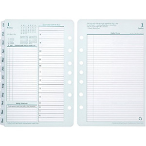 Franklin Covey 35414 Original Dated Daily Planner Refill January december 4 X