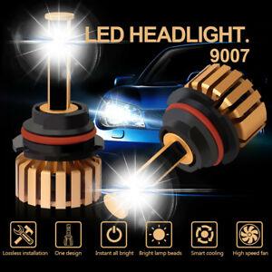2x 9007 Hb5 40000lm Cree Led Headlight Kit For Ford F 150 Explorer Focus Mustang