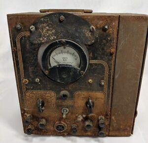 Hickok Volt Ohm Milliamter Vacuum Tube Tester World War Ii Navy Ship Steampunk