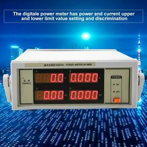 Lw 9800 600v Digital Power Meter With Bnc Connect Cable Ac100 240v 50 60hz Stw