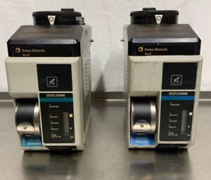 Datex Ohmeda Tec 6 Desflurane Anesthesia Vaporizer lot Of 2
