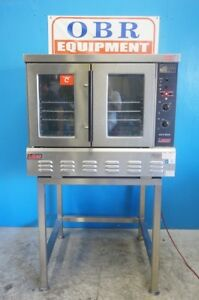 Lang Natural Gas Full Size Convection Oven Model Gcco ap With Stand