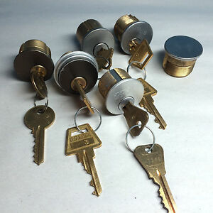 Cylinder Parts 1 Rim Cyl 4 Mortise Cyl 1 Dummy Cyl W 1 Working Key Each