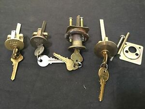 Locksmith Rim Cylinders W Keys Set Of 4