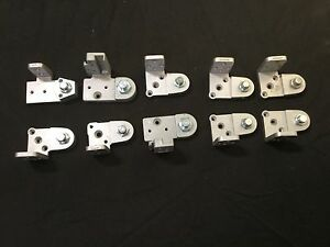Assorted Brands Of Frame Pivots Kawneer U S Aluminum Set Of 10 locksmith