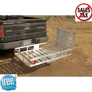 Mobility Carrier Cargo With Ramp Folding Aluminum Scooter Hitch Rear Truck Rack