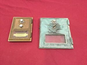 Vintage Post Office Box Fronts Combo Style Locksmith