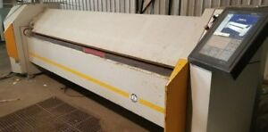 Ras Turbobend Cnc Sheet Metal Folder brake 16ga X 124 Touch more Control