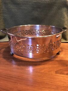 Vintage William A Rogers Canada Silverplate 8 Casserole Holder