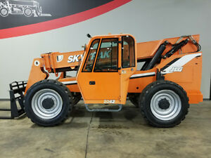 2007 Skytrak 8042 8000lb Rough Terrain Telehandler Telescopic Reach Truck