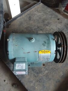 5 Hp 3 Phase Baldor Electric Motor Off Air Compressor