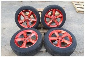 2005 2014 Ford Mustang 18 Inch Gt Rims Wheels Tires 5 Spoke Painted