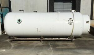 3 000 Gallon Vertical Air Tank 150 Psi 14 Base Ring 19 l X 6 w 1 5 Inlet