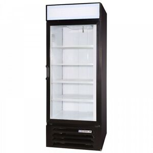 Beverage Air Lv27 1 b 30 Refrigerated 1 Glass Door Merchandiser 23cu Ft