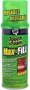 Touch n Foam 4001031212 Maxfill Maximum Expanding Sealant
