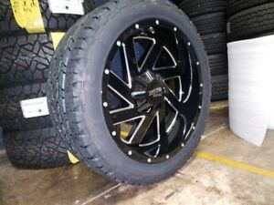 22x10 Moto Metal Mo988 Wheel Tire Package 32 At 6x135 Ford F150 Expedition