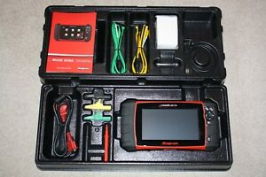 New 18 4 Snap On Modis Ultra Full Function Scan Tool W European Software Update