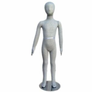 Mn 334 Pinnable Flexible Child Kid Mannequin With Head 4 7 7c 8c