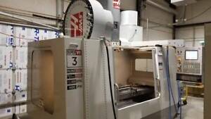Used Haas Vf 3 Ss Cnc Vertical Machining Center Mill W Auto Pallet 40 Tools 2006