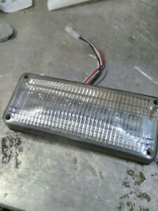 Used Whelen 700 Series Linear Super led Lighthead 70rc6fcr Red Clear