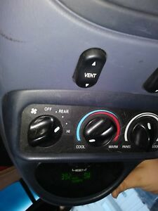 Ford Excursion Blue Overhead Roof Console
