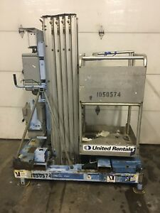 2008 Genie Iwp 25s 25 Electric Scissor Vertical Mast Man Personnel Lift