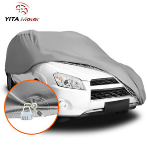 Full Car Cover Waterproof Uv Heat Dust Rain Resistant Breathable Auto Protection