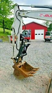 Takeuchi Tb135 Tb138 Tb235 Hydraulic Mini Excavator Thumb Grapple Clamp Claw Cat