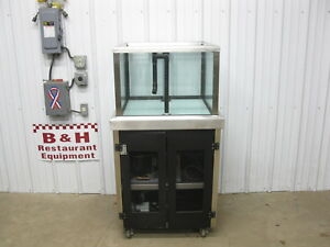 Sea Water Visions 30 Market Live Seafood Lobster Tank Display Case 3030swv18