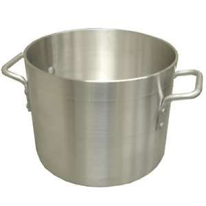 Pot Kitchen Aluminum Stock For Soup Brew Kettle Beer Cooking Pot Catering 100 Qt