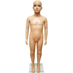 Mn 244 Fleshtone Unisex Plastic Child Young Teen Full Size Mannequin 4 3 25
