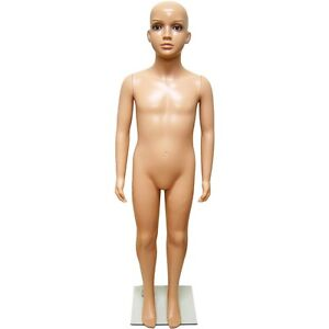 Mn 244 Fleshtone Unisex Plastic Child Young Teen Full Size Manneq