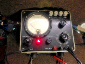 Vintage An usm 116a Multimeter From The Vietnam Era modified For Civilian Use