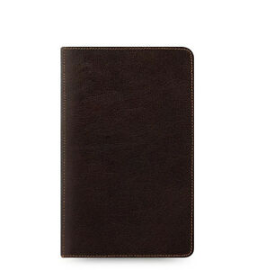 Filofax Personal Compact Heritage Organiser Planner Diary Brown Leather 026023