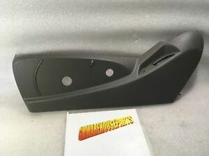 2014 2017 Silverado Sierra Drivers Seat Switch Gray Trim Panel Bezel 84233193