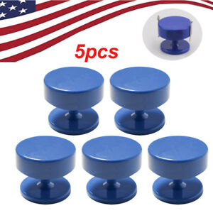 5x Round Powerful Magnetic Dental Lab Bur Burs Drill Block Holder Station Usa