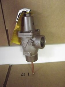 Watts 141s M12 Relief Valve