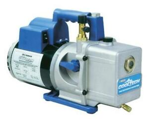 Robinair 15600 Cooltech Vacuum Pump 2 stage 6 Cfm