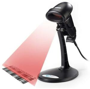 Esky Usb Automatic Handheld Barcode Scanner Reader With Adjustable Stand